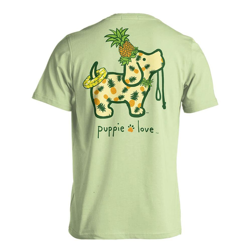 Pineapple Pup Short Sleeve T-Shirt