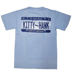 Kitty Hawk Wright Brothers License Plate Short Sleeve T-Shirt