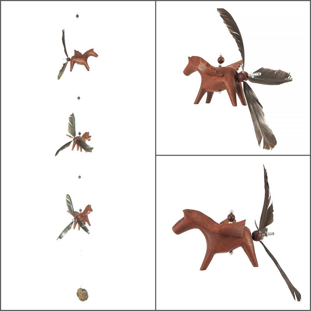 Wood Horse Whirly Mobile - Kitty Hawk Kites Online Store