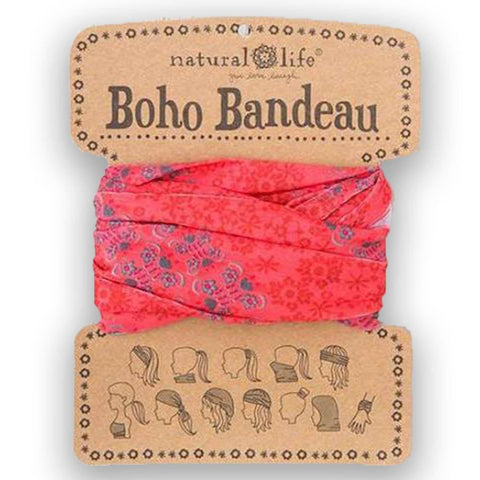 Coral Teal Garland Boho Bandeau®- BBW146 - Kitty Hawk Kites Online Store