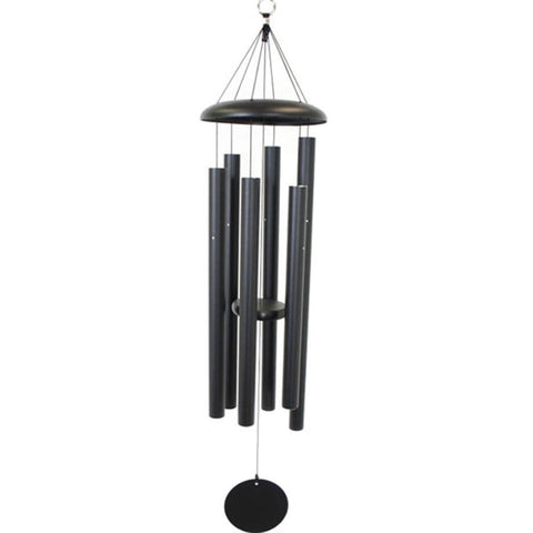 "Corinthian Bells 44"" Black Chime"
