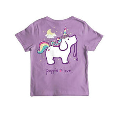 Unicorn Pup Youth Short Sleeve T-Shirt