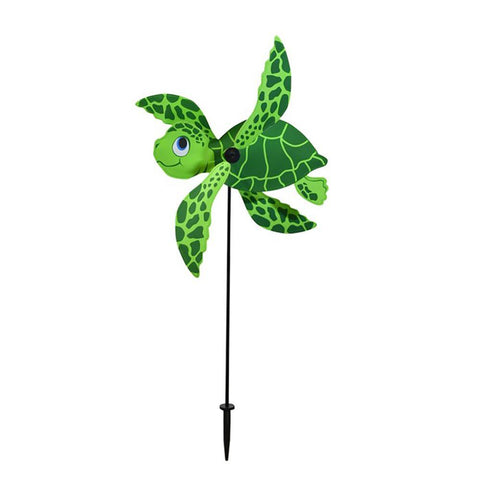 Sea Turtle Baby Whirligig Wind Spinner