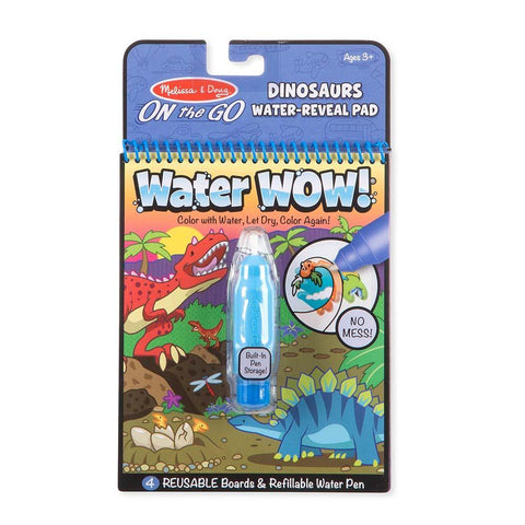 Water Wow! Dinosaurs Water-Reveal Pad - On the Go Travel Activity - Kitty Hawk Kites Online Store