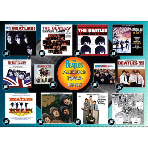 Beatles: Albums 1964-1966 Puzzle - Kitty Hawk Kites Online Store