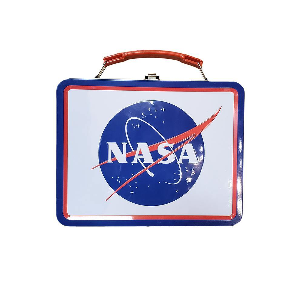 NASA Logo Tin Lunch Box