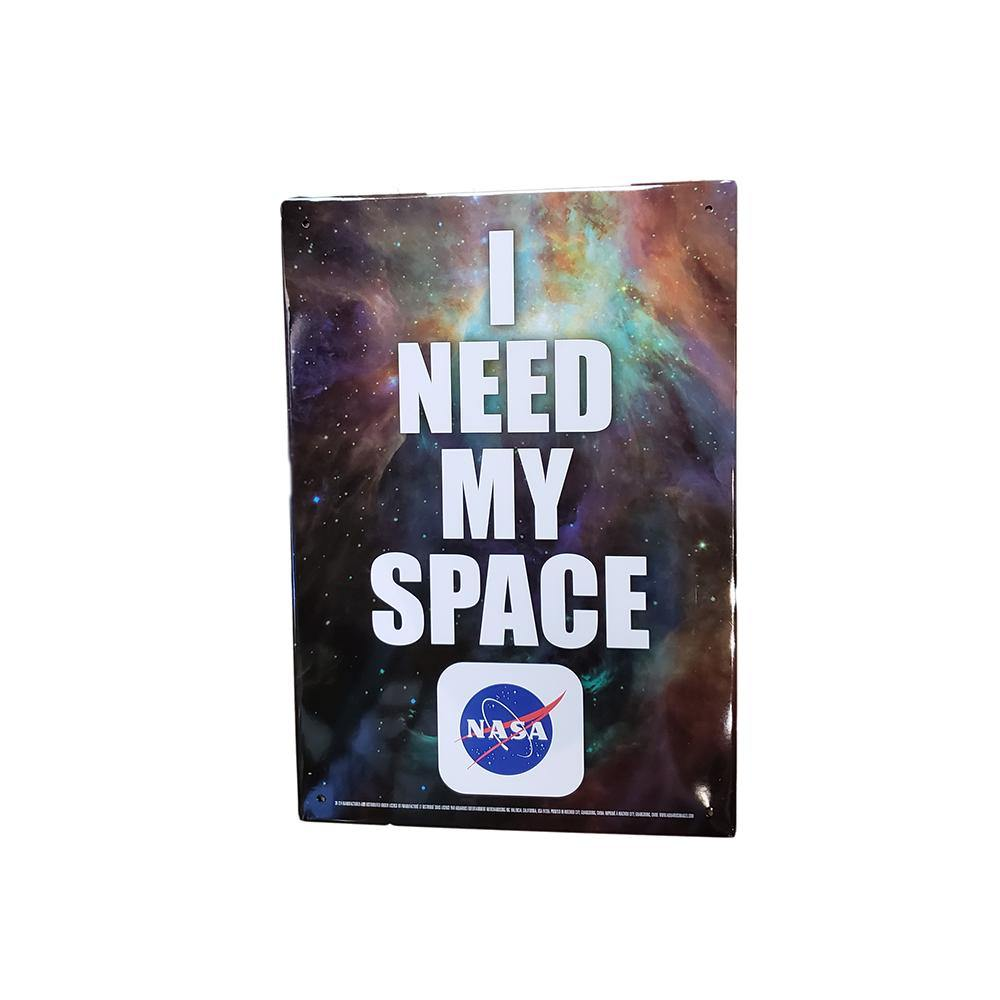 NASA I Need My Space Tin Sign