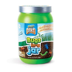Play Dirt Bugs In A Jar