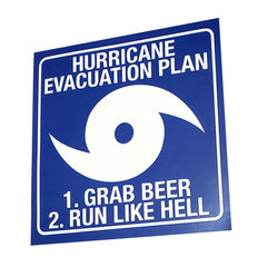 Hurricane Evacuation Sticker