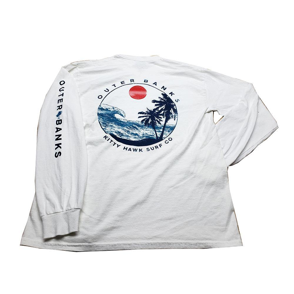 KHSC Long Sleeve Coastal Club Wave - Kitty Hawk Kites Online Store