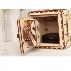 Ugears Safe Mechanical Model - Kitty Hawk Kites Online Store