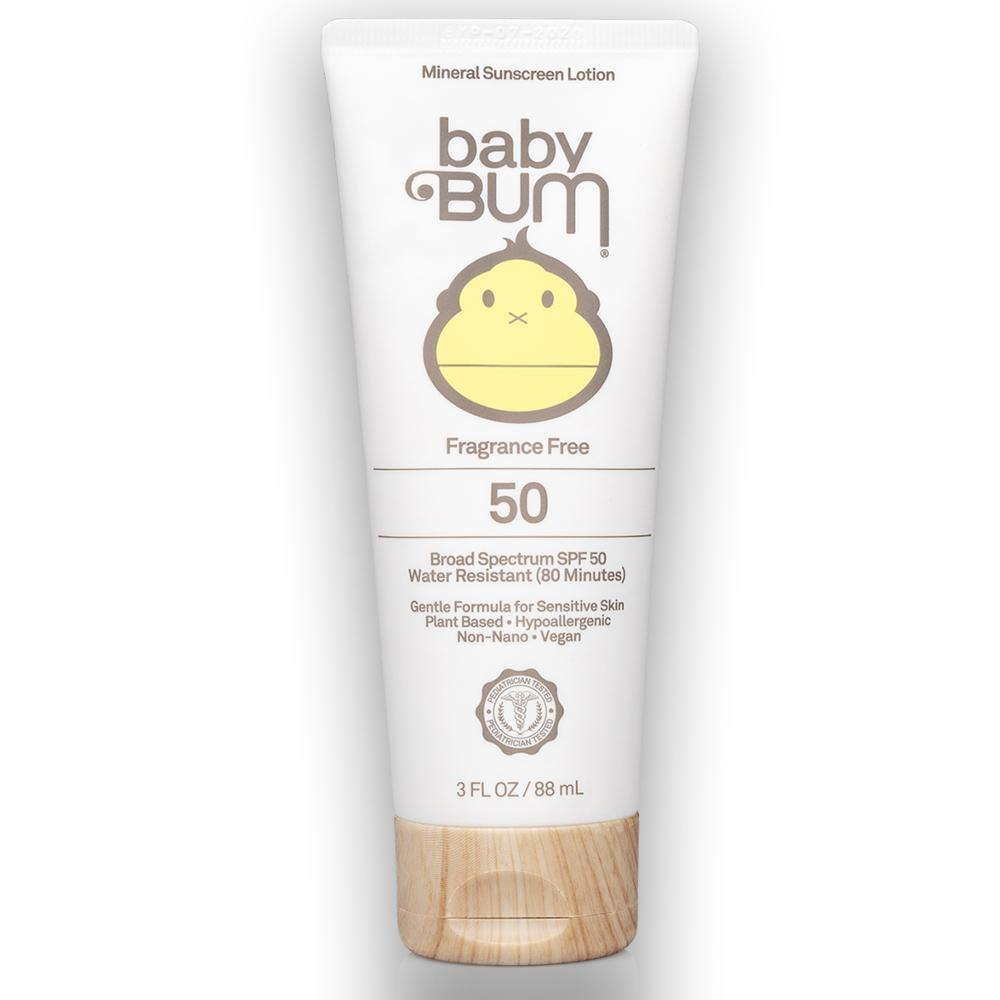 SPF 50 Baby Bum Sunscreen Lotion