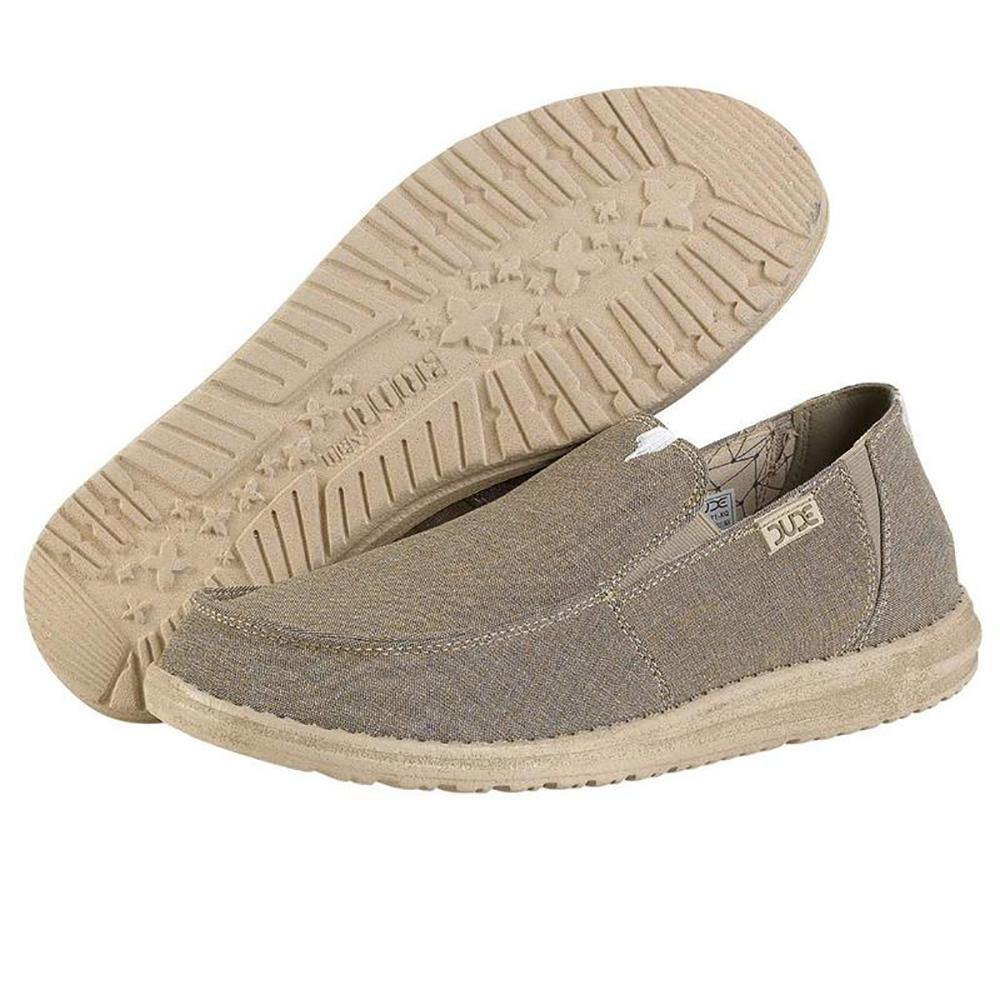 Mens Chan Stretch Fleece Shoes - Linen Steppa
