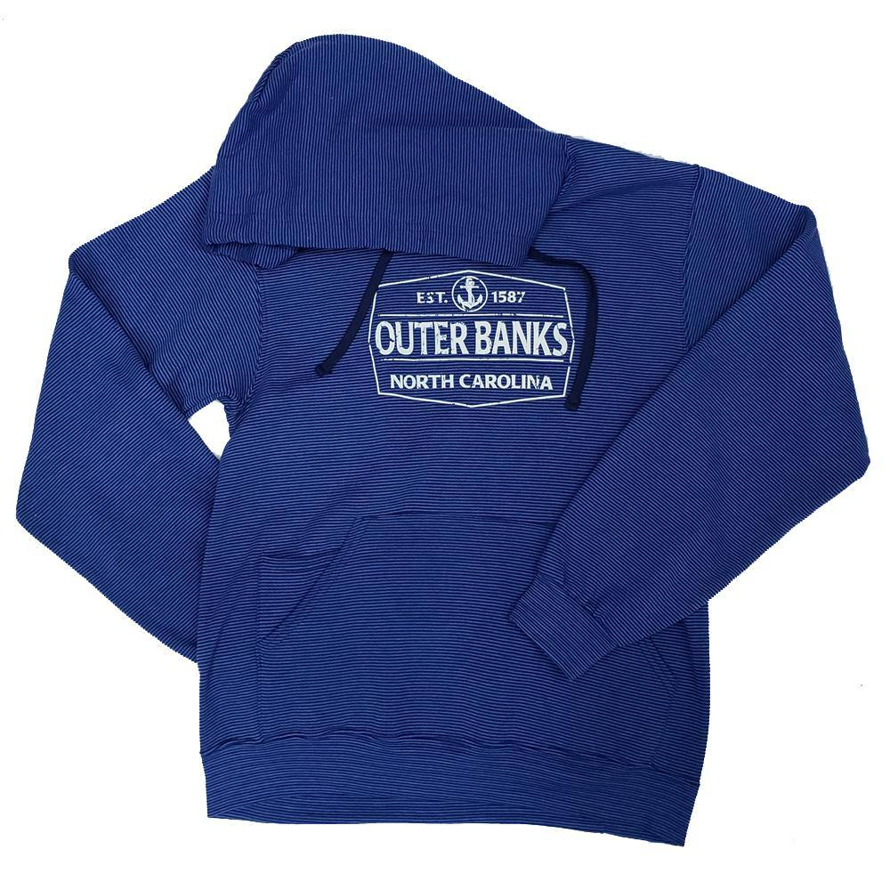 Outer Banks Anchor Stripe Hooded Sweatshirt