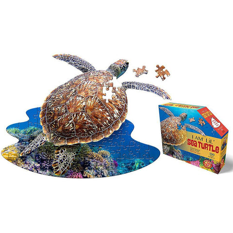 I AM Lil' Sea Turtle Puzzle - 100 Pieces - Kitty Hawk Kites Online Store