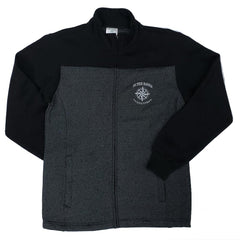 Outer Banks Compass Two-Tone Full Zip Sweatshirt