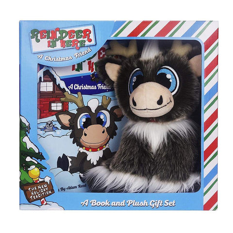 Reindeer In Here - Plush and Book Box Set - Kitty Hawk Kites Online Store