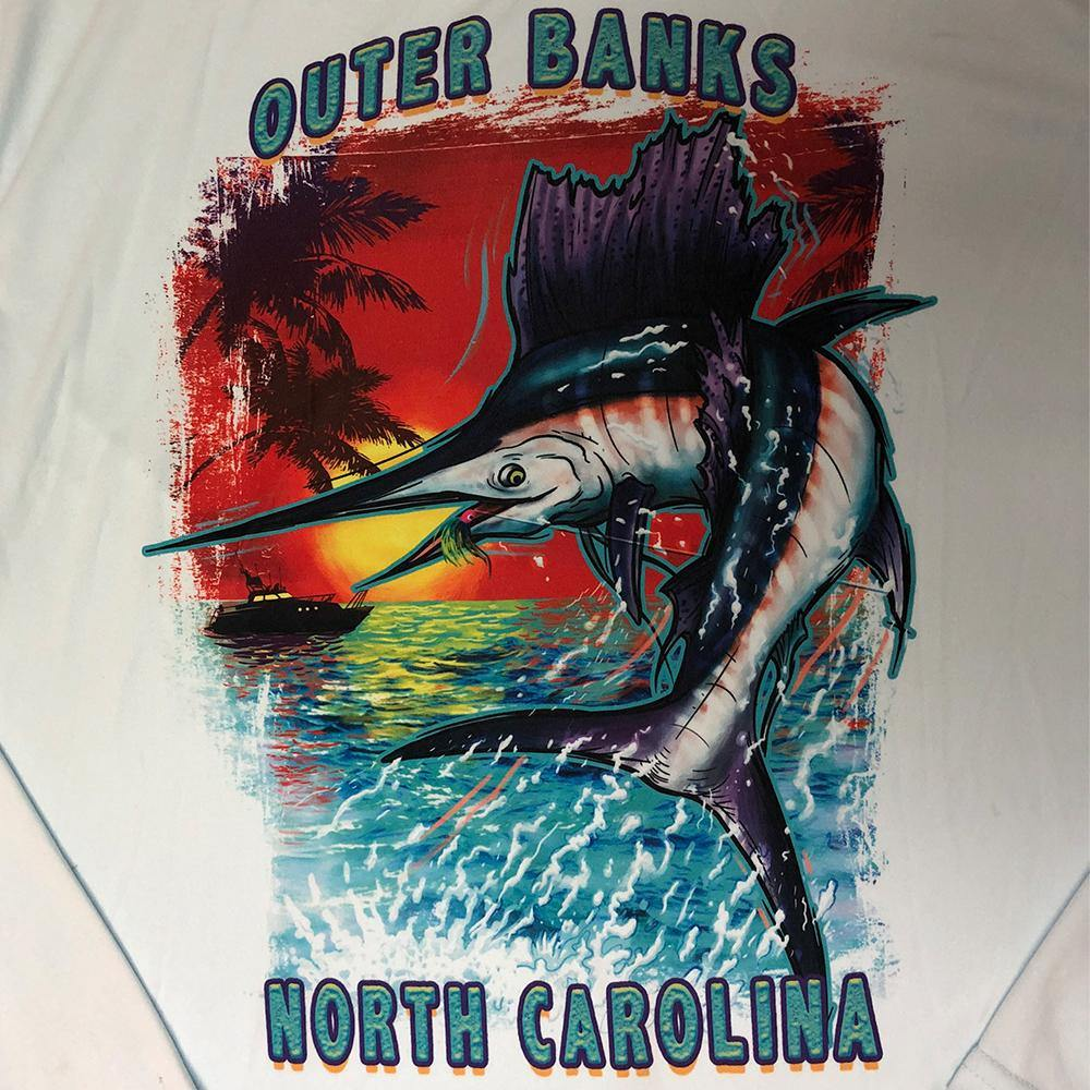 Outer Banks Jumping Sailfish Tee
