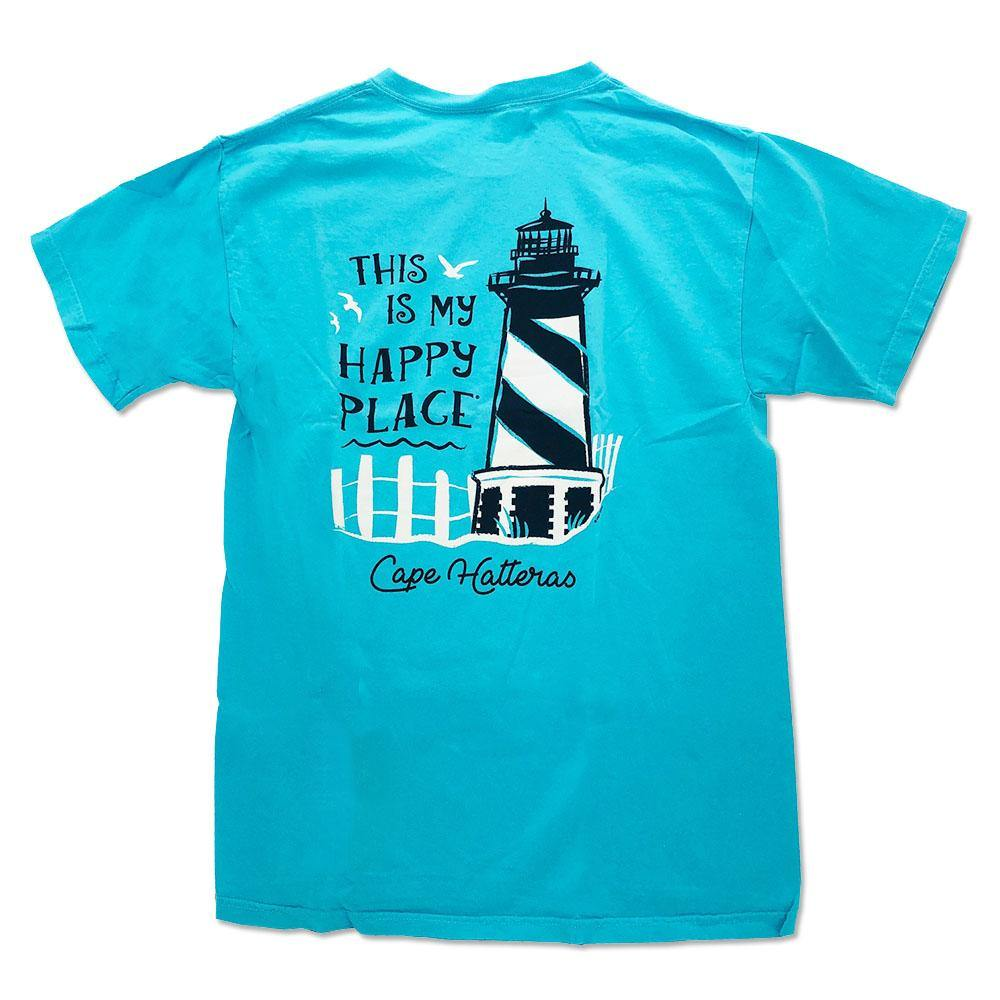 Happy Place Hatteras Lighthouse Short Sleeve T-Shirt