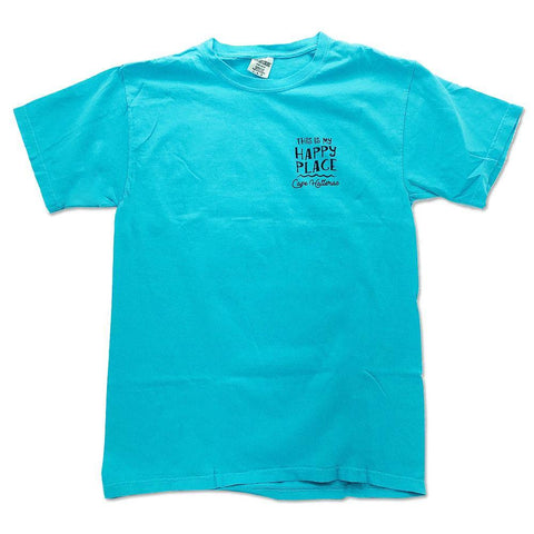 Happy Place Hatteras Lighthouse Short Sleeve T-Shirt - Kitty Hawk Kites Online Store