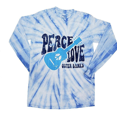 Peace Love Outer Banks Long Sleeve T-Shirt
