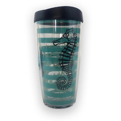 Seahorses 16 oz. Cup - Kitty Hawk Kites Online Store