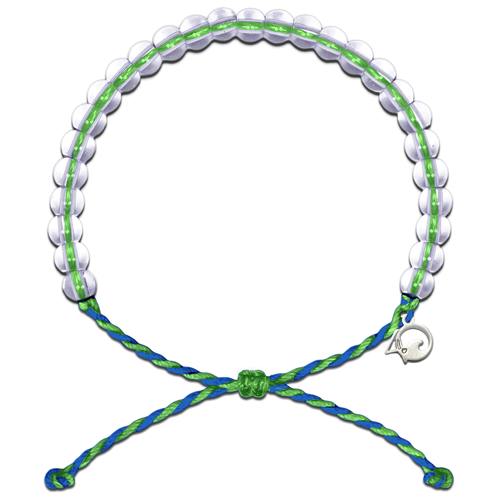 4Ocean Earth Day 2018 Blue/Green Bracelet - Kitty Hawk Kites Online Store
