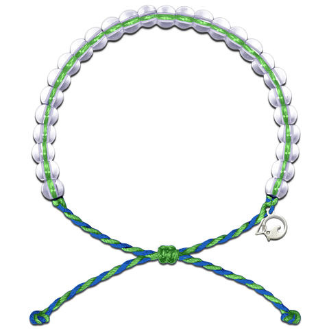 4Ocean Earth Day 2018 Blue/Green Bracelet