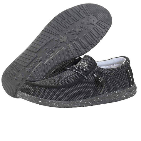 Mens Wally L Sox Shoes - Onyx