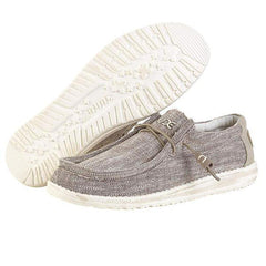 Mens Wally Woven Shoes - Beige