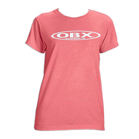 OBX Classic Stretch Logo Ladies Short Sleeve T-Shirt