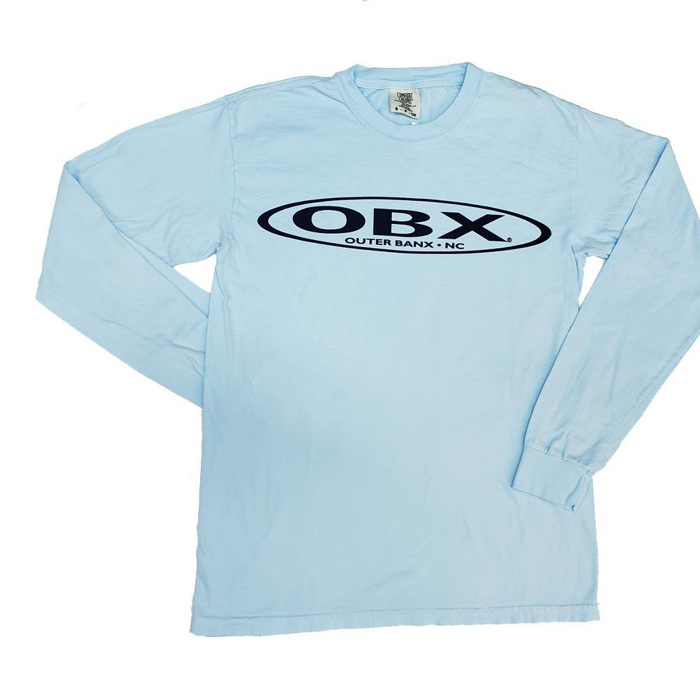 OBX Classic Stretch Logo Long Sleeve T-Shirt
