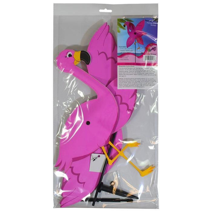 Flamingo Baby Whirligig Wind Spinner