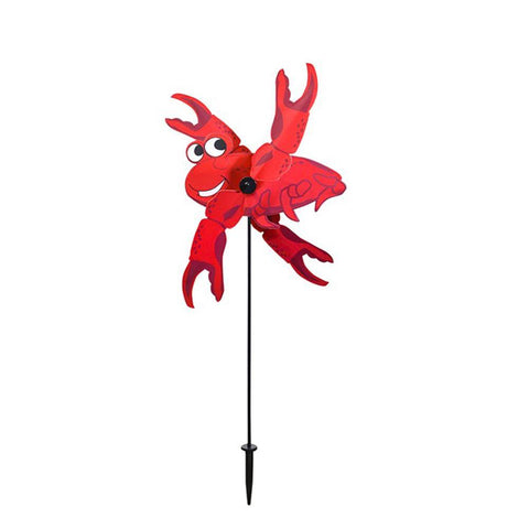 Crab Baby Whirligig Wind Spinner