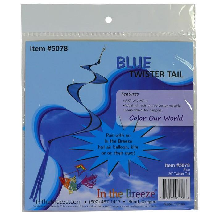 29 Inch Twister Tail - Assorted Colors