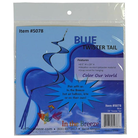 29 Inch Twister Tail - Assorted Colors - Kitty Hawk Kites Online Store