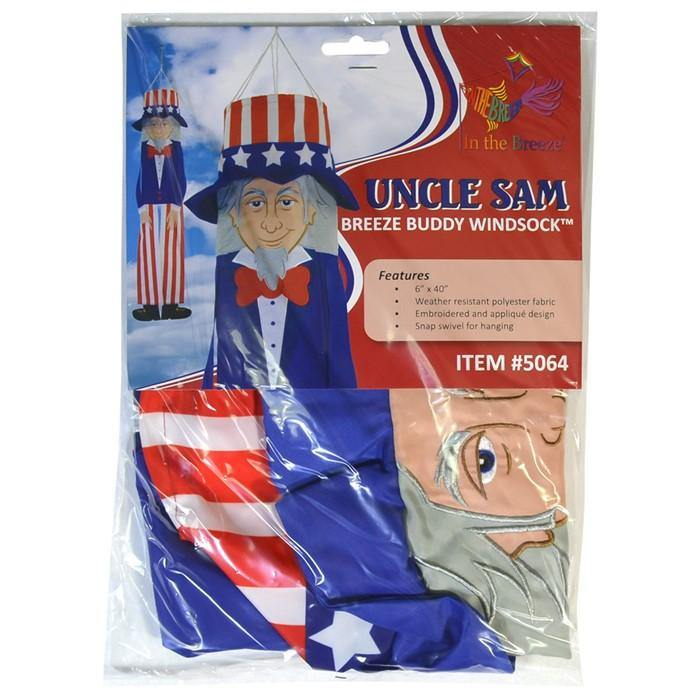 Uncle Sam 40 Inch Breeze Buddy Windsock