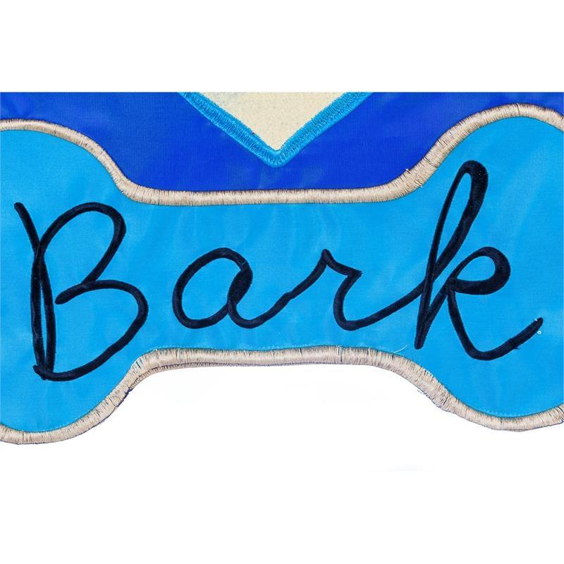 Live, Love, Bark Applique Garden Flag