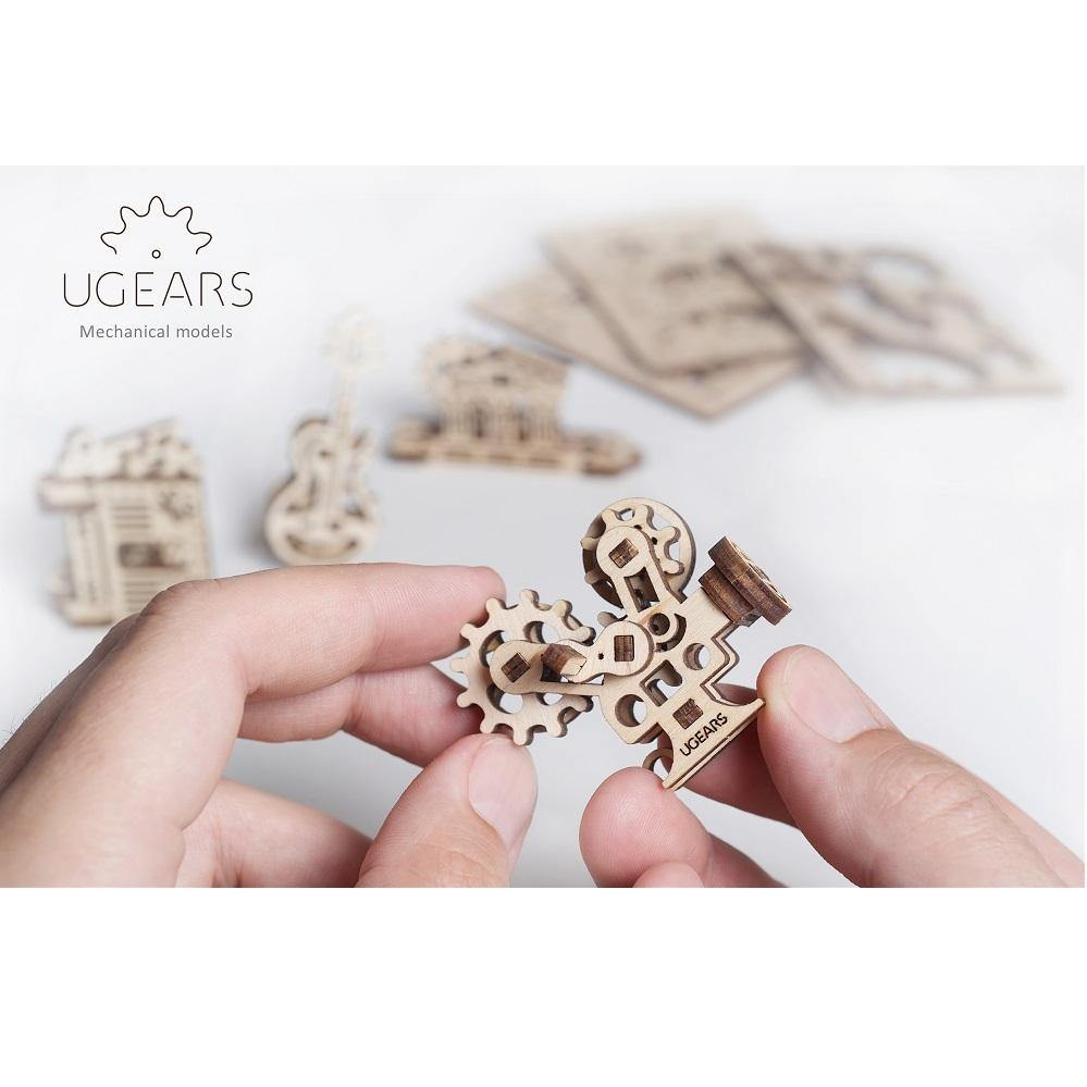 UGears U-Fidget Creation Mechanical Model