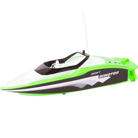 R/C Green Mini Speed Boat Toy