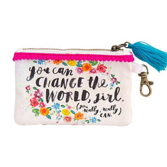 You Can Change The World ID Pouch