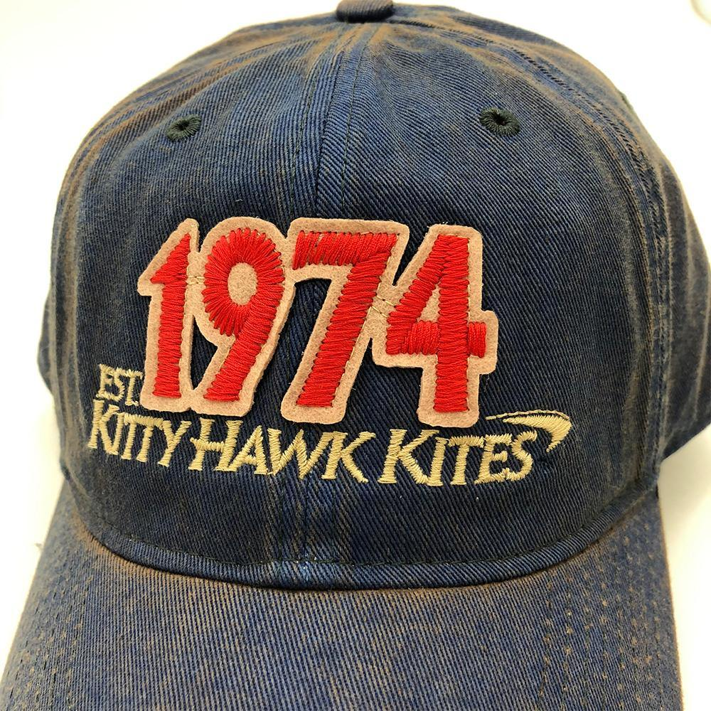 1974 Kitty Hawk Kites One Size Fits All Solid Hat