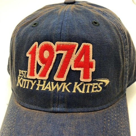 1974 Kitty Hawk Kites One Size Fits All Solid Hat - Kitty Hawk Kites Online Store