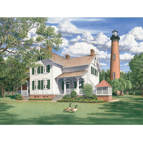 Currituck Afternoon 550 Piece Puzzle