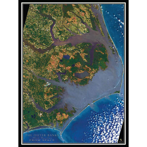 Outer Banks From Space 550 Piece Puzzle - Kitty Hawk Kites Online Store