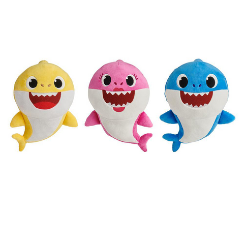 Baby Shark Family Sound Plush Dolls - Kitty Hawk Kites Online Store
