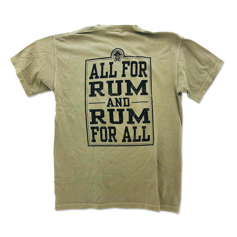 All For Rum and Rum For All Short Sleeve T-Shirt