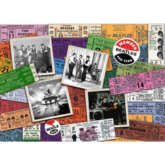 Beatles Tickets Puzzle - 1000 Pieces - Kitty Hawk Kites Online Store