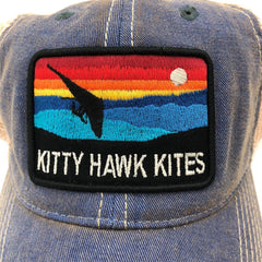Kitty Hawk Kites Horizon Hang Glider Trucker Hat