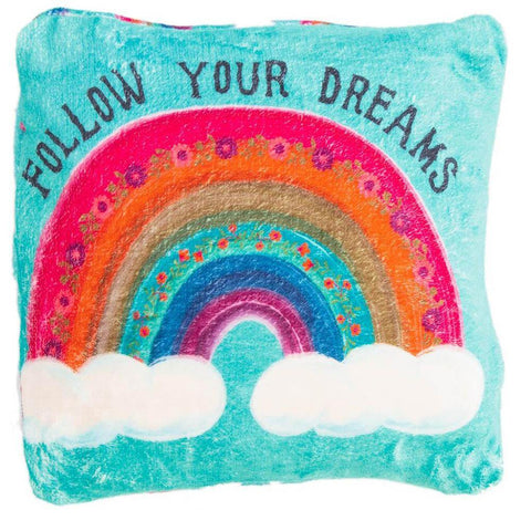 Follow Your Dreams 2-in-1 Blanket Pillow
